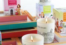 Inhala Candles / En Inhala encontrarás una delicada selección de velas para dar bienestar a tu hogar.