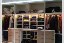 Closet e Guarda roupa