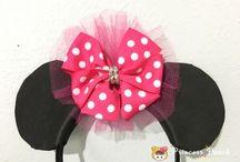 Minnie Mouse Ideas / Minnie Mouse DIY Fun ^O^ 米妮, 米老鼠手作都在這裡啦 :)