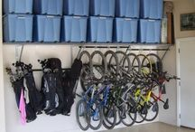 Garage organization / by Gail Wood