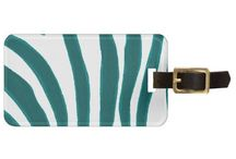 Luggage Tags / Find unique luggage tags that you can personalize online, to go with your awesome luggage. These tags are made of acrylic and your contact info is printed as part of the design.
