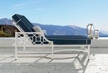 Barclay Butera Outdoor Collection for CASTELLE / The BARCLAY BUTERA OUTDOOR COLLECTION for CASTELLE is handcrafted to capture luxury, sophistication and designer chic.