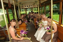 Wedding Pictures w/ Our Trolleys :)
