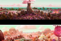 'Wreck it Ralph' concept art_disney / Ralph. Vanellope