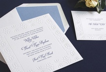 Wedding: Letterpress / The tactile appeal of letterpress says as much as your words do.