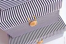 caixas de papelão decoradas de pano e papel