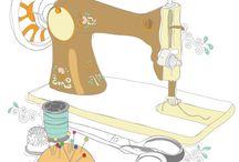 Sew Ilustration