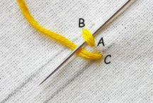 Embroidery Tutorials / Best ways to learn how to embroider!
