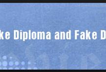 online fake degrees