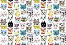 meow / Cats / by Jona Keys