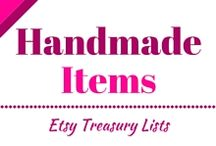 Handmade items - Etsy treasury lists / Here you can find my favourite Etsy treasury lists, and my own lists. Enjoy!
