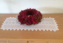 Hjemmelavet blomsterdekorationer / Love this rose
