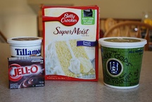 Cake Mixes on Steriods...or yogurt, sour cream! / by Shirrlie Tuggle