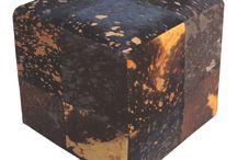 Sitzwürfel! Gemütlichkeit im Quadrat / Hocker und Stühle hat jeder - Sitzwürfel haben Stil!