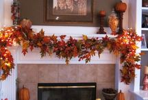 Fall Decor for Mantle