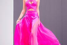 Pretty in Pink by Eduardo de las Casas / Pink dresses by Eduardo de las Casas www.eduardodelascasas.com