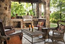 BBQ HEAVEN / Outdoor kitchens, decks, & furnishings / by Lindy Cratty