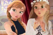 Elsa et Anna swag