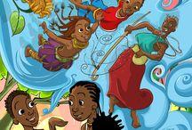 A Quinta dos Girassóis / Ilustrações para o livro Quinta dos Girassóis de Cremilda Lima
