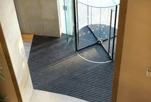 Nationwide Building Society - Entrance Matting / A branch of Nationwide Building Society needed simple, professional and functional commercial flooring. INTRAsystems designed stylish entrance matting with bespoke fitting to ensure that it did not affect the functionality of the client's revolving entrance - https://lnkd.in/dDvdbAr