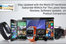 Gadget Latest News / KNOW THE LATEST SOFTWARE UPDATES OF YOUR HANDHELDS  / by KnowYourHandheld