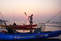 Kayak Fishing the Surf