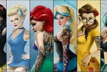 Tattooed Charaters