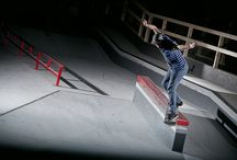 Action Photography / Action, external flashlight photography/ skateboarding