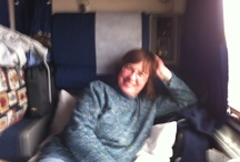 Aboard Amtrak on the Research Trip for my romantic thriller, Forever Young: Blessing or Curse