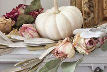 Autumn / fall decorating ideas