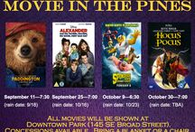 Movie in the Pines / Southern Pines Movie in the Pines night. Bring a chair or blanket and enjoy a free movie.
