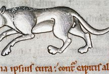 A CATalog of Cats / A small selection of our most purrfect feline appearances, from medieval manuscripts to advertisements and sketches.