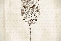 Wine Drawings & Pics