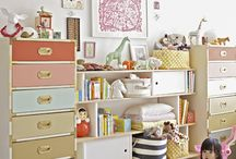 Kid decor and toy storage / by Rachel's Eccentricities