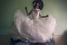 Wedding Dress Heaven / A beautiful shoot capturing the elegance and grace of wedding dresses and bridal lingerie