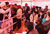Sangat Darshan program in Shutrana