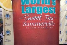 Guinness World Record / We broke the record for the largest glass of Iced Tea with the Town of Summerville, Scout Boats and Dixie Crystals Sugar, 1400 gallon glass of sweet iced tea!