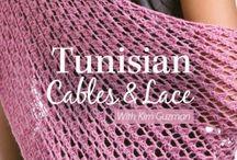 Tunisian crochet :)
