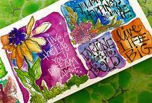 Joanne Sharpe artist inspiration