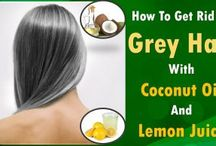 How to use coconut oil to stop your hair from falling,thinning or graying