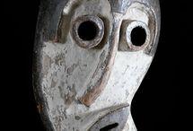 primitive mask お面
