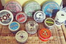 Pomade Collections / The finest pomade collections always include a tin of Sweet Georgia Brown!