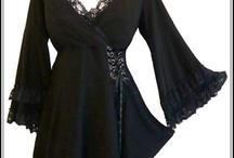 fashion ideas, not so little black dress. / by Janine Fenton