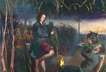 Neo Rauch und Rosa Loy