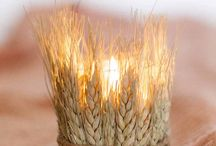 wheat wedding