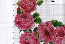 Cross stitch /flowers
