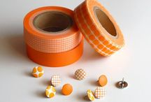 Washi Tape / Things decorated with washi tape