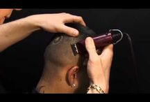 How to cut hair / www.barber2barber.com for all your barbering needs.  Learn how to cut hair like a pro! / by Learn to Cut Hair