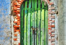 Gates, Doors, Arches, Details / by Katy Liang