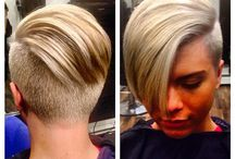 SIDE CUT AND PUNK HAIRSTYLES / SIDE CUT AND PUNK HAIRSTYLE